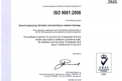 ISO 9001 2008 19-07-16 to 15-09-18